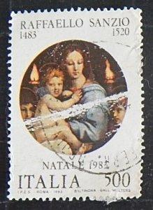 Art Rafael Santi 1483-1520, Italy, (№1268-Т)