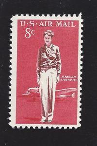 United States, C68, Amelia Earhart Airmail Single, MNH