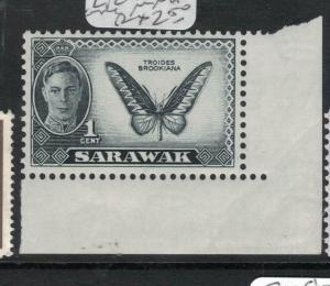 Sarawak Butterfly SG 171 Lower Right Corner MNH (1dvq)