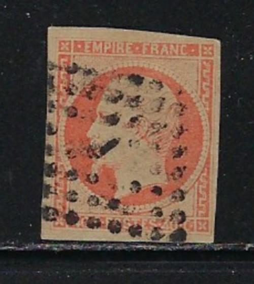 France 18 Used 1853 Issue