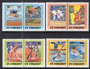 St Vincent 765-768 Summer Olympics MNH VF