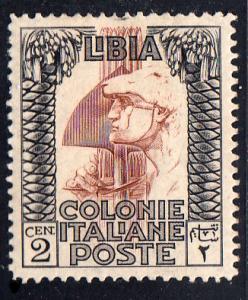 Libya Scott 48 Unused lightly hinged.
