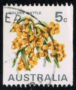 Australia #439C Golden Wattle; Used (0.25)