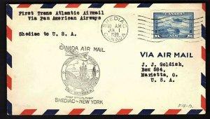 FFC SHEDIAC NEW BRUNSWICK TO NEW YORK (AAMC F18-12)(K1262)
