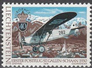 Liechtenstein #663 MNH F-VF (SU5345)