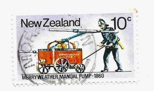 New Zealand 1977 - U - Scott #635 *