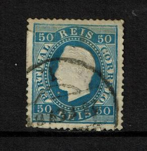 Portugal SC# 43, Used, small side tear, some toning, see notes - S7775