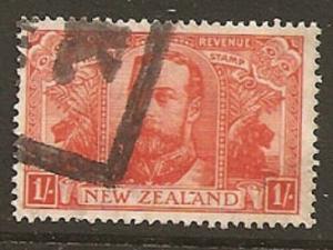 NEW ZEALAND 1920 Victory 1/- used. ACS cat $90 - .........................S5916