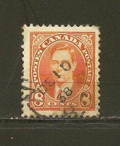 Canada 236 King George VI Used