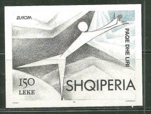Albania MNH S/S 2471 Europa Dancer 1995 SCV 7.00