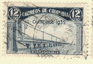 Colombia 1935 12c Fine Used A8P55F107