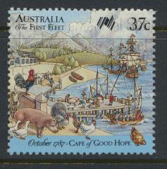 SG 1091  SC# 1028b  Used  - Australina Settlement 9th Issue