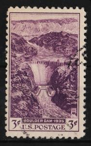 USA 1935 Boulder Dam Issue (1/1) USED