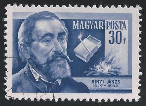 Hungary #1102 30f Janos Irinyi