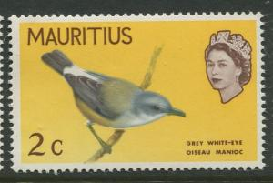 Mauritius - Scott 276 - Birds Definitive Issue -1965 - MNH -Single 2c Stamp