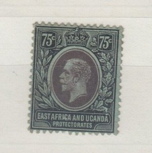 East Africa & Uganda KGV 1912 75c SG52 MH J6393