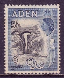 Aden - Scott #58A - MNH - Light gum toning - SCV $9.50