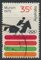 Australia  SC# 530 Munich Olympic Games 1972  SG 521  Used   as per scan