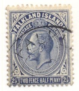 FALKLAND ISLANDS #33 Used Scott $25.00