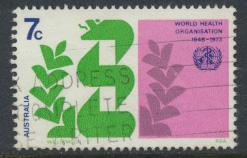 Australia  SC# 545   Caduceus & Laurel  Used