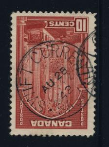 CANADA - 1942 - SWIFT CURRENT / SASK. CDS ON SG 363a - VERY FINE