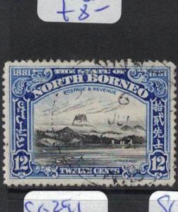 North Borneo SG 298 VFU (6dpm)