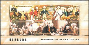 Barbuda # 237d Mint Never Hinged