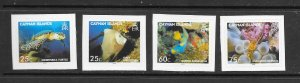 FISH - CAYMAN ISLANDS #968-71 (self adhesive)  MNH