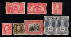 US STAMP 1920 -30 MNH STAMPS COLLECTION LOT #T1