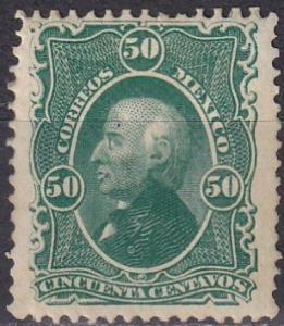 Mexico #110a F-VF Unused CV $50.00 (A18751)