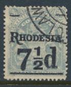 British South Africa Company / Rhodesia  SG 116 Used OPT  Rhodesia see scans