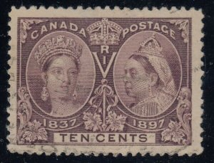 Canada Sc 57i, used, Major Re-Entry from Pos. 5