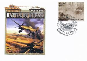 [96828] Palau 2005 World War II Battle of Kursk Special Cachet Cover