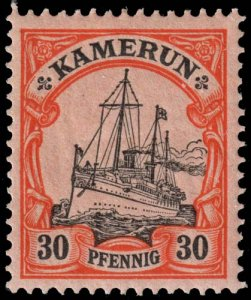 Cameroun - Scott 12 - Mint-Hinged - Paper Adhesion