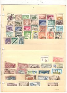 ARGENTINA COLLECTION ON STOCK SHEET