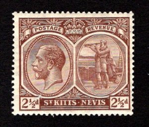 ST. KITTS AND NEVIS  SC# 44  FVF/MLH