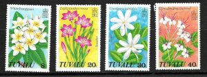 #8047 TUVALU 1978 FLORA FLOWERS  YV 80-3 MNH