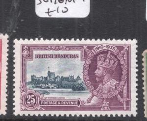 British Honduras Silver Jubilee SG 146 MOG (4dnj)