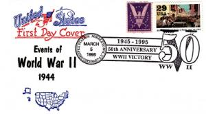 1995 50th Anniv End of WWII MIDPEX Middletown CT Artopage