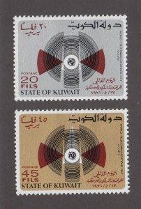 Kuwait Scott #527-528 MH