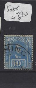 SARAWAK  (P2911B)  BROOKE  10C  SG 55   VFU