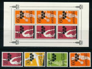 Netherlands Antilles - Moscow Olympic Games MNH  (1980)