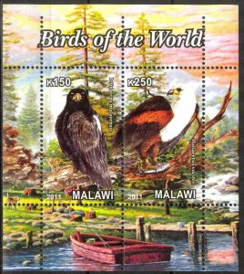 Malawi 2011 Birds of Prey (7) MNH Cinderella !