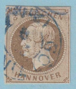 GERMAN STATES - HANOVER 23  USED - NO FAULTS EXTRA FINE!