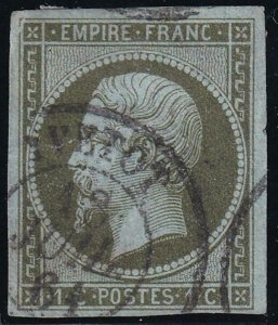 France 1853-1860 SC 12 Used