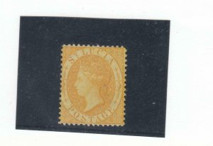 ST LUCIA # 8a VF-MINT UNUSED Q/VICTORIA CAT VALUE $425 FREE SHIPPING