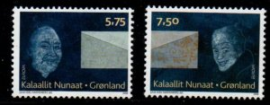 Greenland Sc 511-12 2008 Europa stamp set mint NH