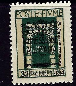 Fiume 201 MNH 1924 overprinted issue