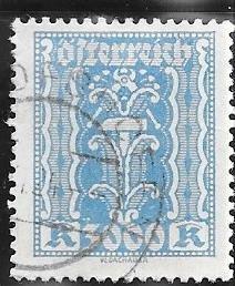 Austria  #286  3000k  (U ) CV $4.75