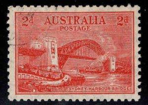 Australia Scott 130 Used Sydney Harbor bridge light cancel